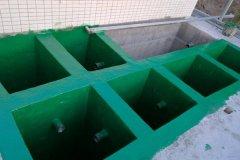 高温乙烯基玻璃鳞片胶泥的施工方法说明